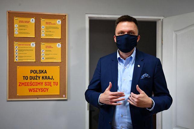 """Szymon Hołownia: nie założyłem """"spółdzielni kłusowniczej"""""""