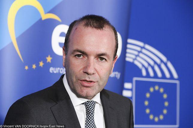 Szef EPL Manfred Weber wyklucza współpracę z PiS
