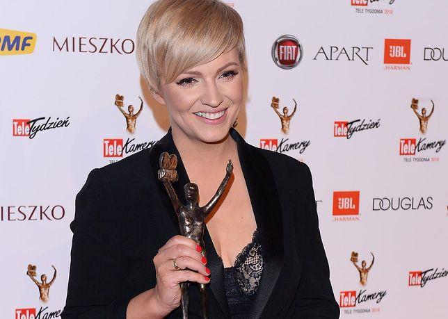 """Dorota Szelągowska zdobyła Telekamerę w kategorii """"Osobowość telewizyjna"""""""