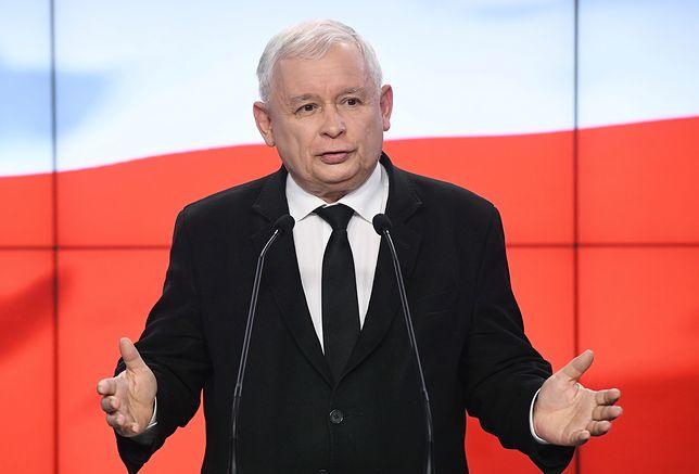Prezes PiS ogłasza decyzję o zmniejszeniu uposażenia parlamentarzystom