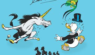 Kaczogród - Carl Barks - Na tropach jednorożca i inne historie z roku 1950