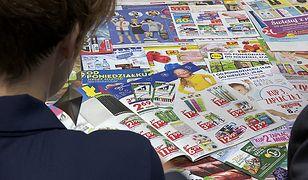 Prawie połowa badanych konsumentów uważa, że gazetki to ważne źródło informacji.