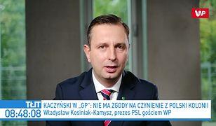 Jarosław Kaczyński o UE. Władysław Kosiniak-Kamysz zdumiony