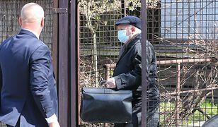 Jarosław Kaczyński na kwarantannie. Przed domem prezesa postawiono radiowóz