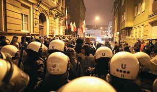 Policja obstawiła centrum Poznania