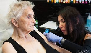 Zarówno internauci jak i tatuatorzy studia Tattoo777 są zachwyceni pomysłem Crystal