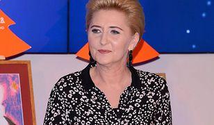 Pierwsza dama wystąpiła razem z Andrzejem Dudą. Zabrała głos