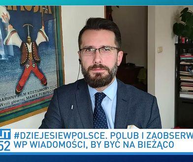 """Radosław Fogiel kpi z Szymona Hołowni. """"Już był w ogródku, już witał się z gąską"""""""