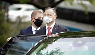 Echa wizyty prezydenta Andrzeja Dudy w Garwolinie. Jest skarga