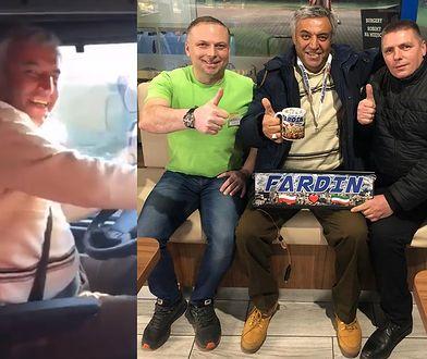 Fardin Kazemi wraca do Iranu ciężarówką, którą kupili mu Polacy. Wciąż odbiera prezenty