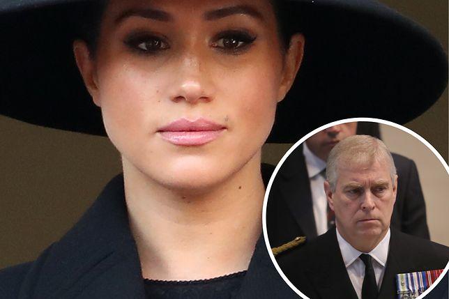 """""""The Telegraph"""" przytacza słowa osoby z otoczenia Meghan Markle dotyczące seksafery, w którą miał być zamieszany książę Andrzej"""