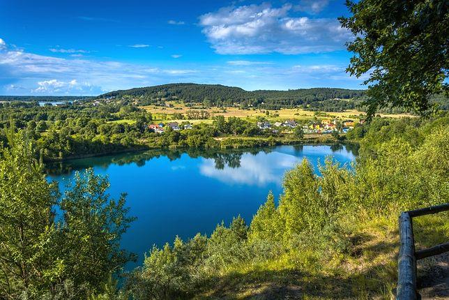 Jedno z jezior na terenie Wolińskiego Parku Narodowego