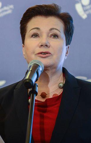 Hanna Gronkiewicz-Waltz, była prezydent Warszawy.