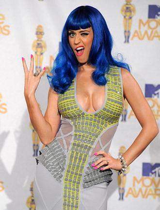 Zdzirowata Smerfetka Katy Perry