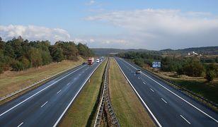 Do kolizji doszło na autostradzie A4