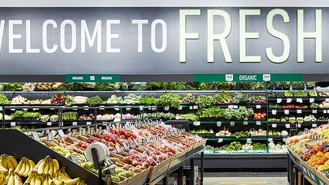 Nowy sklep Amazon Fresh, czyli przyszłość bez kolejki do kasy