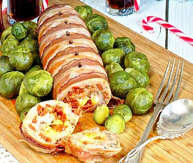 Rolada mięsna z chorizo i boczkiem #przepisnadziś