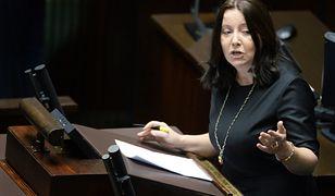 Joanna Lichocka atakuje PO z sejmowej mównicy. Pretekstem jest Powstanie Wielkopolskie