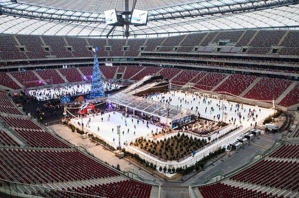 Lodowisko na PGE Stadionie Narodowym ruszyło. Trwa sprzedaż biletów