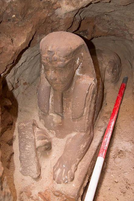Archeolodzy byli zaskoczeni niesamowitym stanem posągu