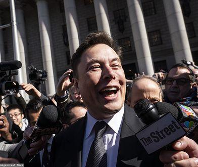 Elon Musk twórca marki Tesla i Space X