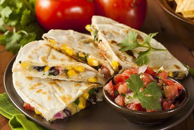 Fast food inaczej - zapiekana tortilla