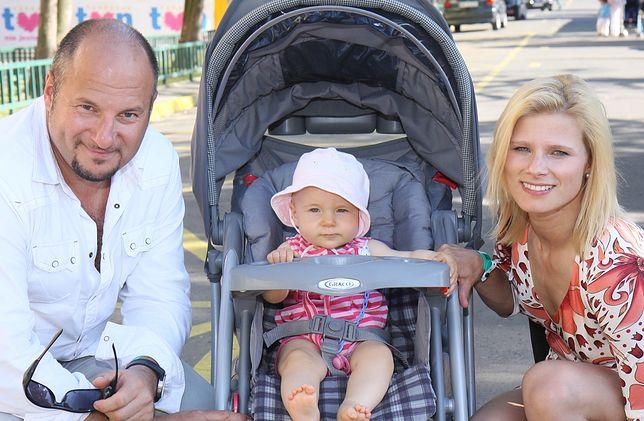 Anna Głogowska i Piotr Gąsowski mają już nastoletnią córkę