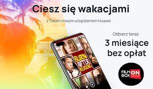 Bezpłatny 3-miesięczny dostęp do oferty FilmBox w Huawei Filmy