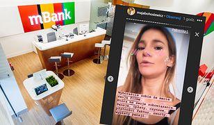 Oburzona aktorka twierdzi, że bank zablokował jej firmowe konto