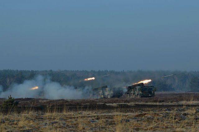 23 Śląski Pułk Artylerii na poligonie