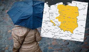 Pogoda. Front nad Polską. Ostrzeżenia IMGW w 13 regionach