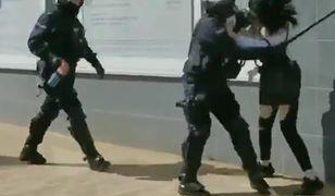 Interwencja w Głogowie. Tak policja broni zachowania swojego funkcjonariusza