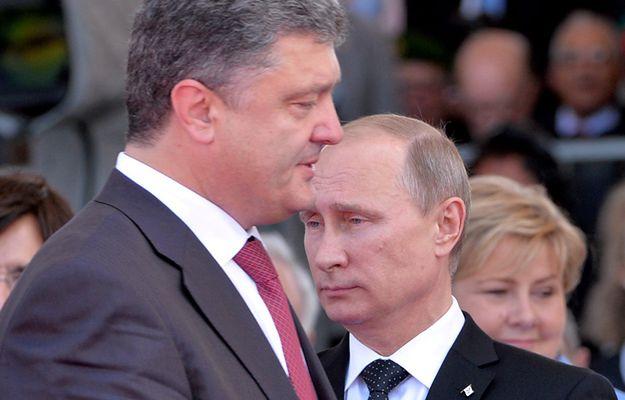 Petro Poroszenko rozmawiał z Władimirem Putinem