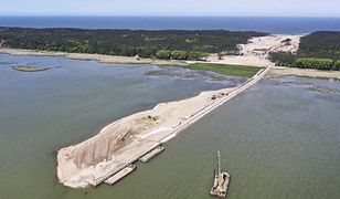 W Polsce powstają trzy nowe wyspy - na Zalewie Wiślanym i Szczecińskim