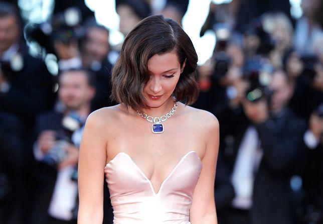 Bella Hadid na festiwalu w Cannes