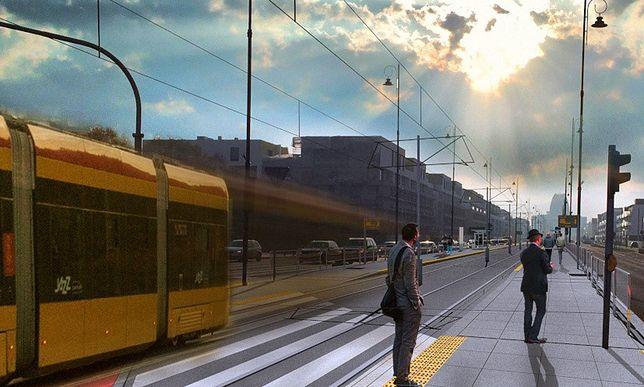 Warszawa. Tramwaj do Wilanowa
