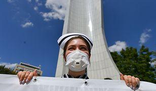 W środę pielęgniarki opanują Warszawę. Adam Niedzielski nie jest ich bohaterem