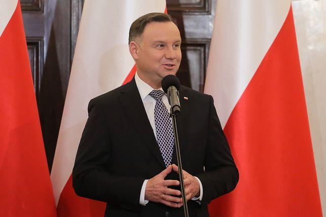 Nowi sędziowie Trybunału Konstytucyjnego. Andrzej Duda przyjął ślubowanie