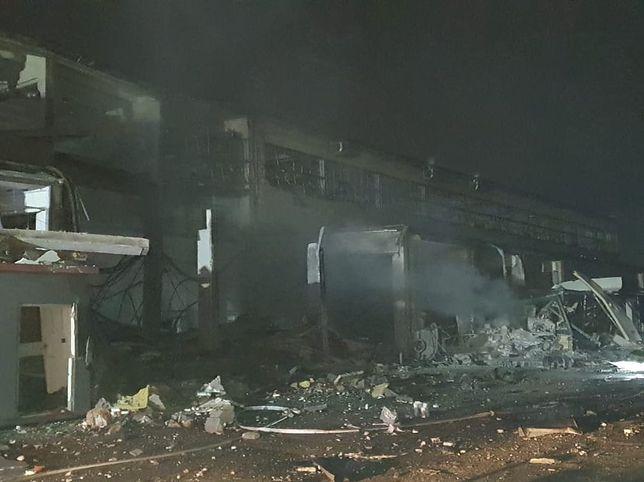 Kędzierzyn-Koźle. Eksplozja w zakładach chemicznych. Są ranni (Fot. Komenda Powiatowa Państwowej Straży Pożarnej w Kędzierzynie-Koźlu)