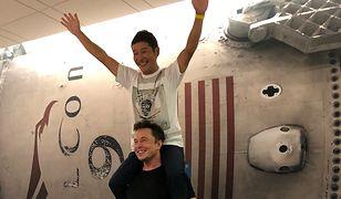 Kosmiczny turysta SpaceX i założyciel firmy