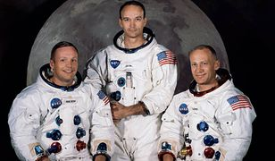Załoga Apollo 11. Od lewej: Neil Armstrong, Michael Collins, Buzz Aldrin