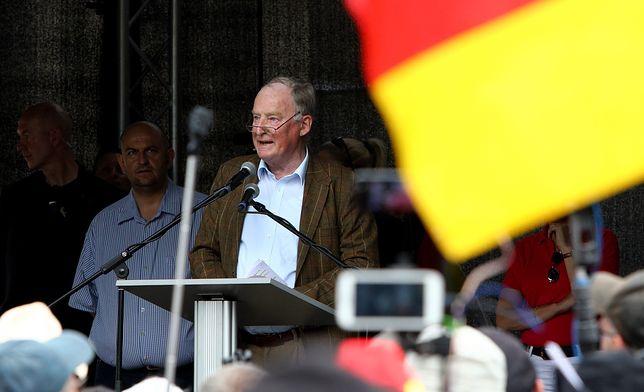 Skandal w Niemczech. Polityk mówił o Hitlerze