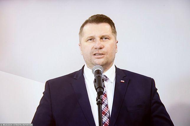 Przemysław Czarnek komentował działania Brukseli ws. praworządności oraz rezolucję PE dot. aborcji