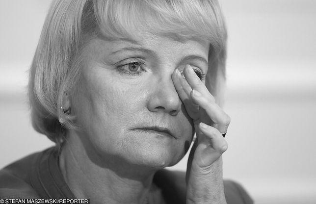 Opozycja też pożegnała Jolantę Szczypińską. Poruszające wpisy