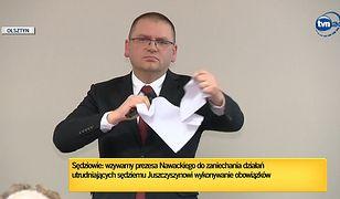 """Maciej Nawacki podarł apel ws. Pawła Juszczyszyna. """"Jaki kraj, taka Nancy Pelosi"""""""