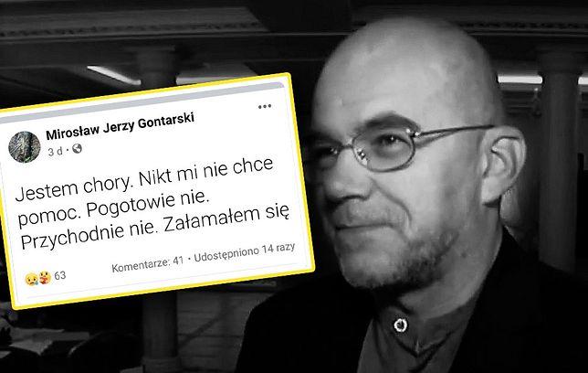 Nie żyje Mirosław Jerzy Gontarski