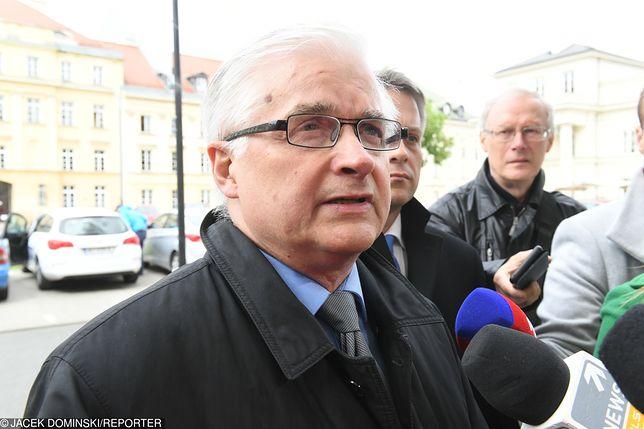 Do wypadku z udziałem byłego premiera doszło w sobotę w Hajnówce (woj. podlaskie)