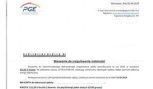 PGE ostrzega przed oszustami. Wysyłają fałszywe wezwania do zapłaty