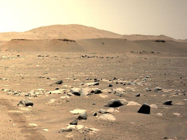 Życie na Marsie może istnieć za sprawą NASA