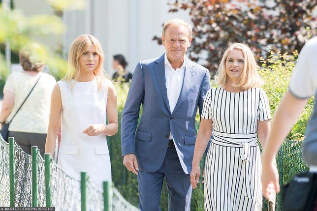 Donald Tusk wspomina koszmarny spacer z żoną po Sopocie